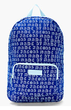 MARC BY MARC JACOBS Blue Neoprene Dynamite Logo 13-Inch Computer Backpack for women