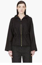 MARNI Black Wool Dolman Sleeve Jacket for women