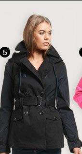 super hooded raincoat