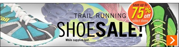 Trail Running Shoe Sale