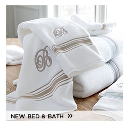 new bed and bath
