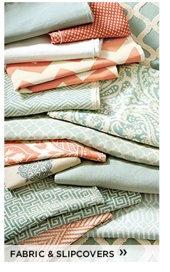 fabric and slipcovers
