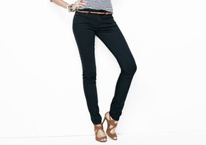 The Skinny: Jeans in Black & Blue