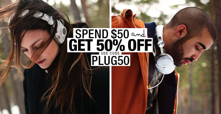 Pay The Plug Spend $50 Get 50% Off