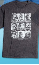 Chewie Expressions Screen Tee