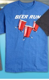 Beer Run Screen Tee