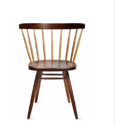 NAKASHIMA STRAIGHT-BACKED CHAIR IN STOCK