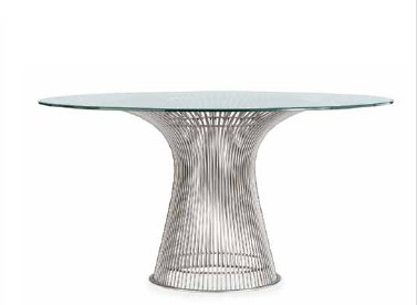 PLATNER DINING TABLE IN STOCK