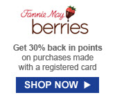 Get 30% back in points on purchases made with a registered card | SHOP NOW