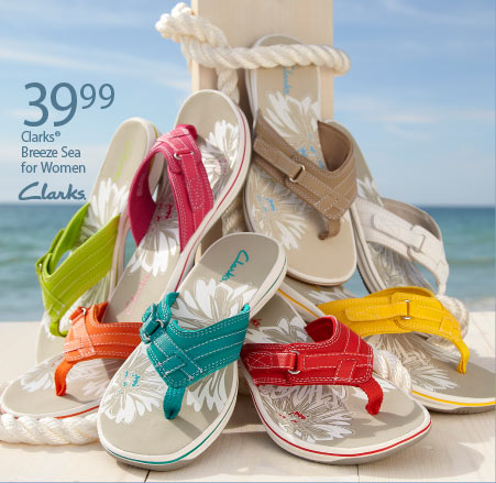 $39.99 Clarks Breeze Sea for Women