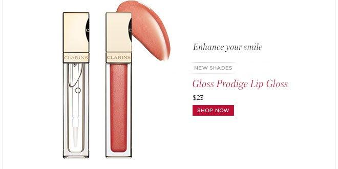 New Shades! Gloss Prodige Lip Gloss. Shop Now>