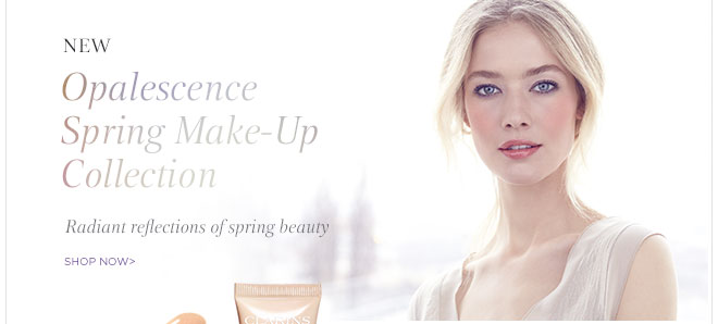 New! Opalescence Spring Make-Up Collection. Shop Now>