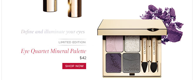 Limited Edition! Eye Quartet Mineral Palette. Shop Now>