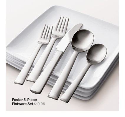 Foster 5-Piece Flatware Set