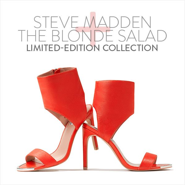 STEVE MADDEN - THE BLONDE SALAD - LIMITED-EDITION COLLECTION