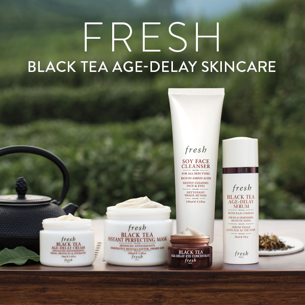 FRESH - BLACK TEA AGE-DELAY SKINCARE