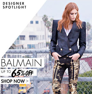 BALMAIN - UP TO 65% OFF