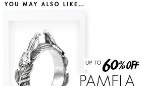 PAMELA LOVE - UP TO 60% OFF