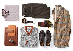 From Head to Toe: Shades of Brown