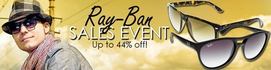 Save up to 44% during the Ray-Ban Sunglasses sales event