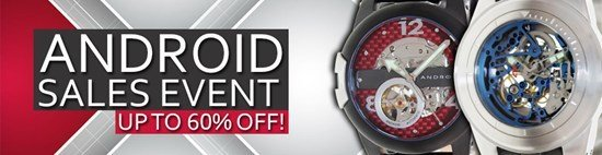 Save up to 60% during the Android Watches sales event