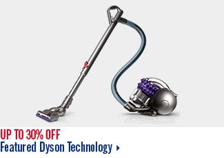 Up to 30% off Featured Dyson Technology