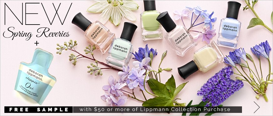 Free Sample with $50 or more of Lippmann Collection Purchase