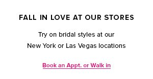 Fall In Love At Our Stores