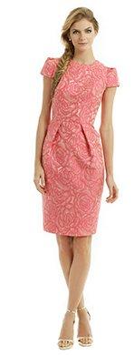 CARMEN MARC VALVO - Rosette Envelope Dress