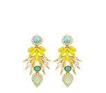 ELIZABETH COLE - Bird of Paradise Earrings
