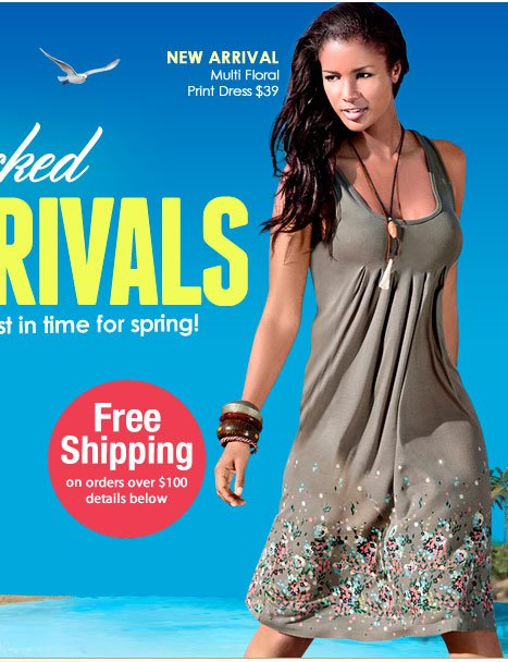 Fresh Picked NEW ARRIVALS! Great NEW looks, just in time for spring!