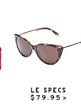 Shop Womens LeSpecs Sunnies