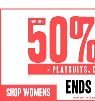 Shop Womens 50 Percent Off