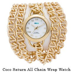 Coco Saturn All Chain Wrap Watch