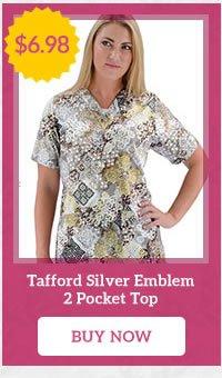 Tafford Silver Emblem 2 Pocket Top - Buy Now