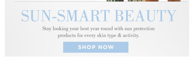 Shop Sun-Smart Beauty