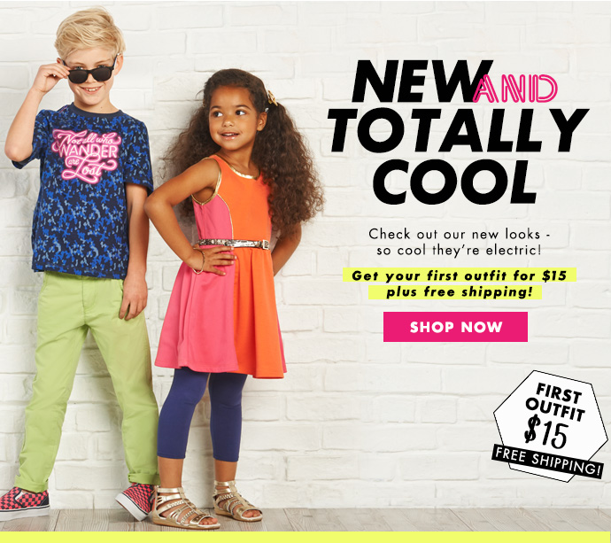 New & Totally Cool Outfits! Get Your First Outfit For $15!