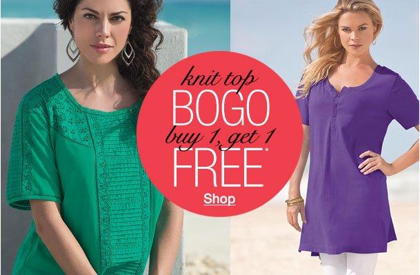 Knit Top BOGO! Buy 1, Get 1 Free!