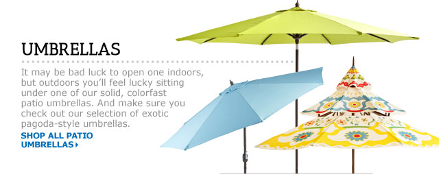 Lovely Patio Umbrellas