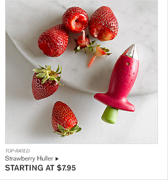 TOP-RATED - Strawberry Huller - STARTING AT $7.95