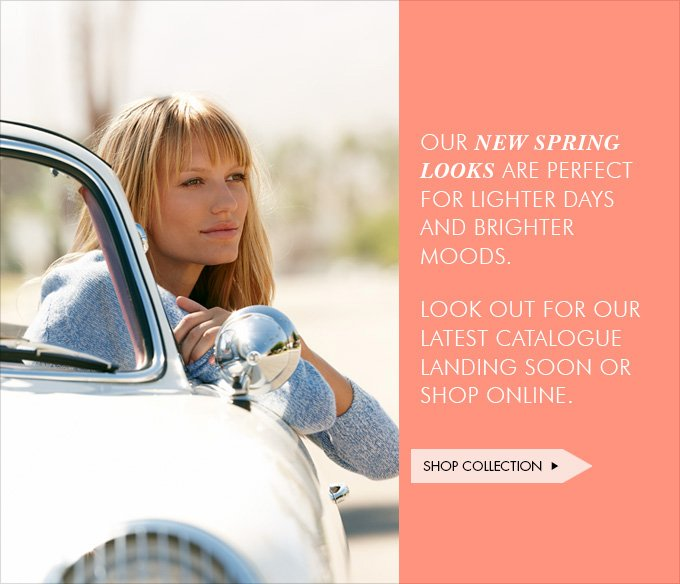 Download Images: Kick-start your spring with 25% off plus free shipping and returns.