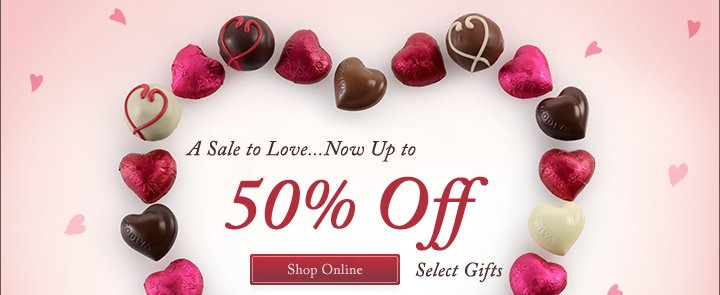 A Sale to Love…Now Up to 50% Off Select Gifts | Shop Online