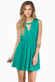 Necked Out Skater Dress 37