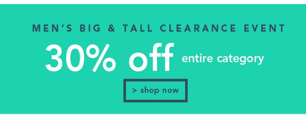 Shop Men's Big and Tall Clearance