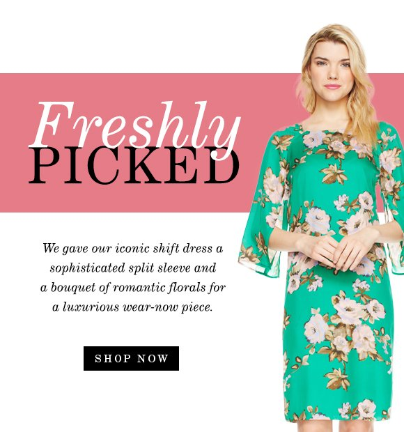 Freshly Picked: Florals to wear now and later!