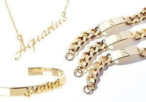 Zodiac & Initial Jewelry