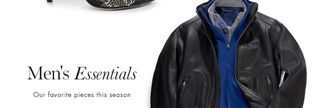 Men's Essentials | Out favorite pieces this season