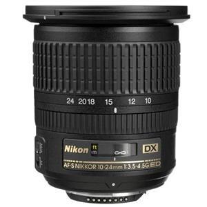 Adorama - Nikon 10-24mm f/3.5-4.5G ED-IF AF-S DX Zoom Lens F/DSLR Cameras - Nikon U.S.A. Warranty