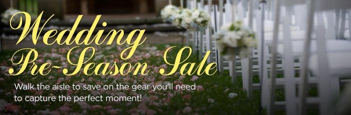 Wedding Pre Season Banner