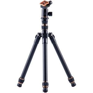 "Adorama - 3 Legged Thing X0a Tim Evolution 2 Compact Magnesium Alloy Tripod System with AirHed 0 Ball Head, 29.68"" Max Height, 26.45 lbs Load Capacity, Black"